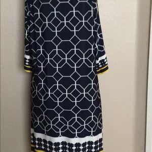 Haani Dresses - Haani Women's Dress, 3/4 Sleeve, Size: XL